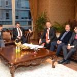 Vali Şahin'den Başkan Poyraz'a Ziyaret