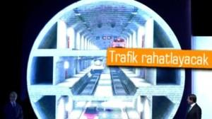Dünya'nın İlk 3 Katlı Tünel Projesi Başladı