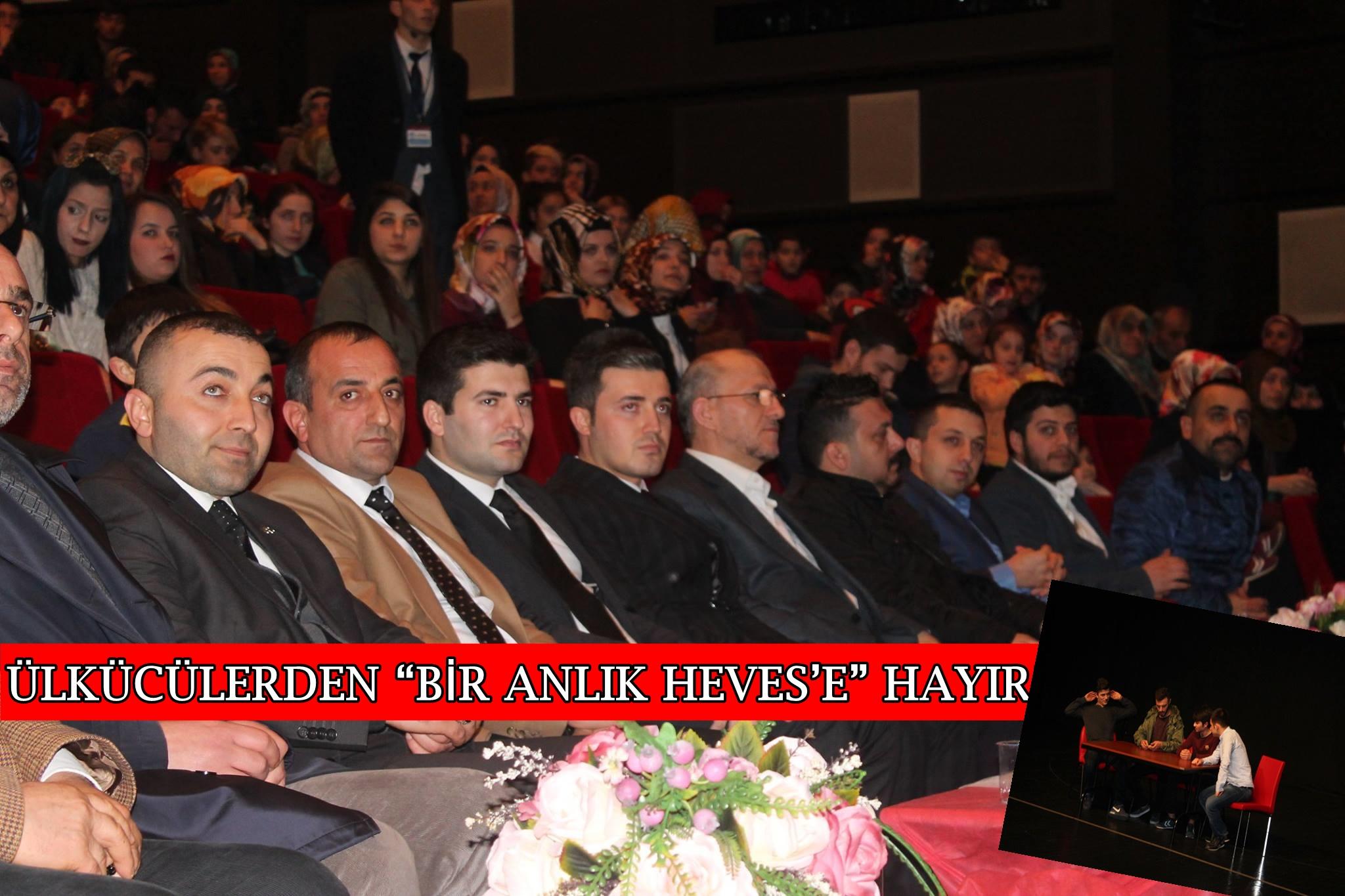 """ÜLKÜCÜLERDEN """"BİR ANLIK HEVES'E"""" HAYIR"""