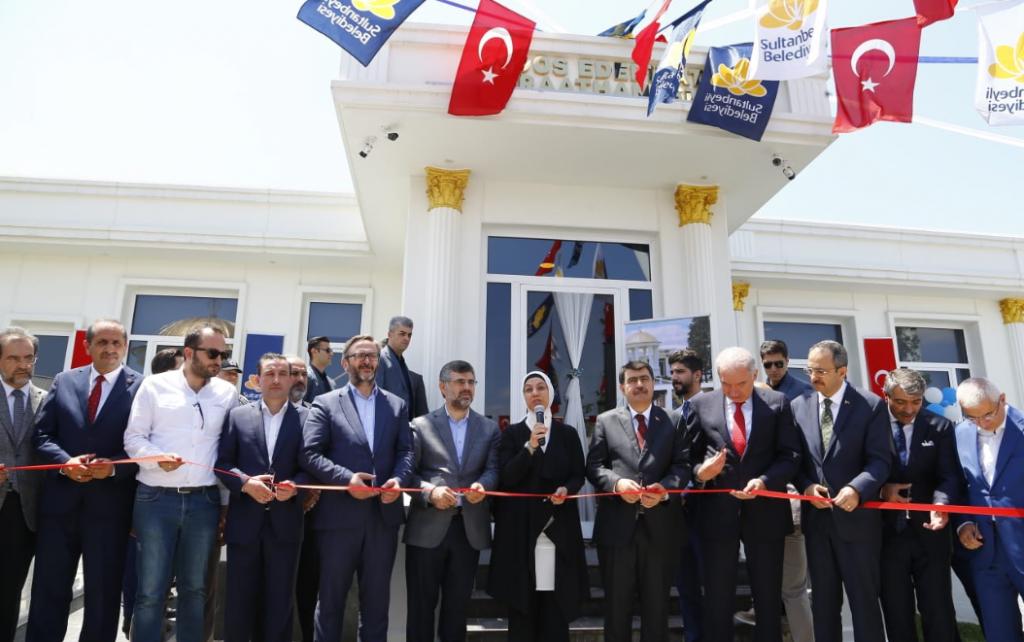 Sultanbeyli'de Edebiyat Kıraathanesi Açıldı