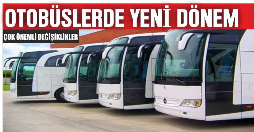 Otobüs Yolculuğunda Yeni Dönem!