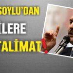 """İçişleri Bakanı Talimatı verdi: """"Harekete Geçin"""""""
