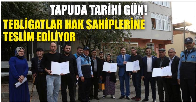 TEBLİGATLAR TESLİM EDİLİYOR!