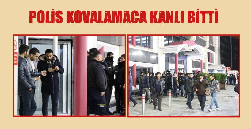 POLİS KOVALAMACA KANLI BİTTİ