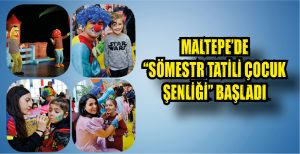 """SÖMESTR TATİLİ ÇOCUK ŞENLİĞİ"" BAŞLADI"
