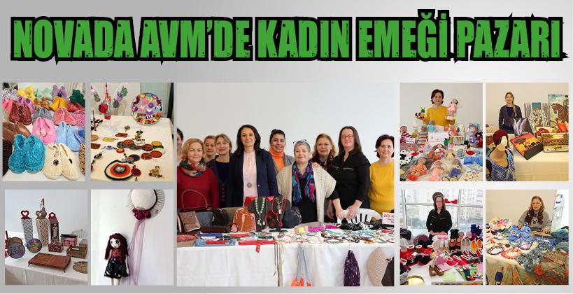 NOVADA AVM'DE KADIN EMEĞİ PAZARI