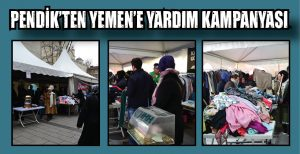 PENDİK'TEN YEMEN'E YARDIM KAMPANYASI