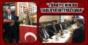 """""""TÜRKİYE'NİN BU TABLOYA İHTİYACI VAR"""""""