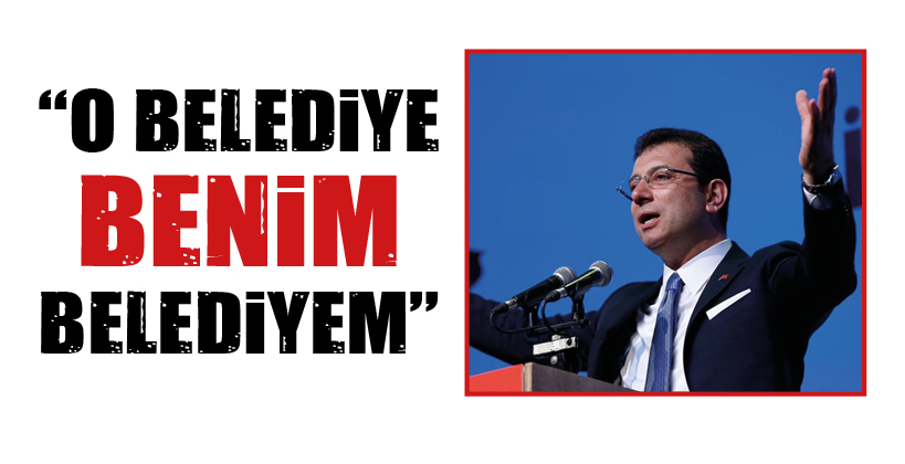 """""""O BELEDİYE BENİM BELEDİYEM"""""""
