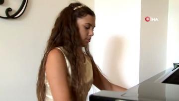 10 yaşındaki piyano sanatçısı İlyun, İspanya dan birincilik ile döndü