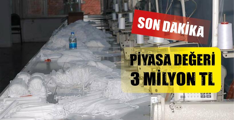 SULTANBEYLİ'DE SAHTE MASKE OPERASYONU!