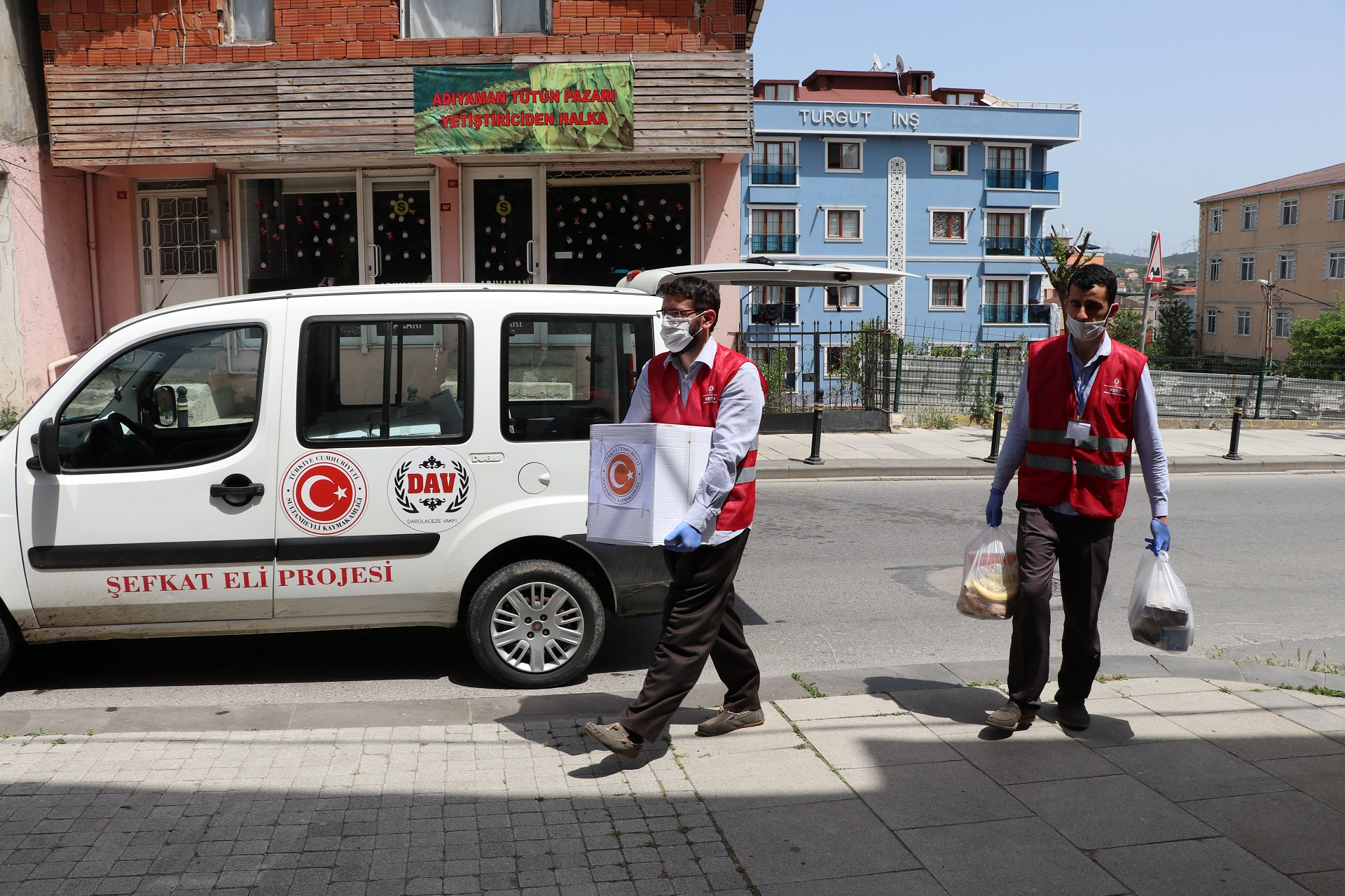 SULTANBEYLİ'DE VEFA SOSYAL DESTEK GRUBU ÇALIŞMALARI