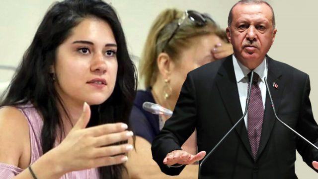 DİLA KOYURGA, CUMHURBAŞKANI ERDOĞAN'A HAKARETTEN GÖZALTINA ALINDI
