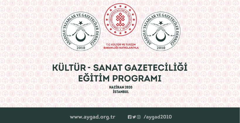 AYGAD, Basında Kültür Sanat hamlesini başlatıyor