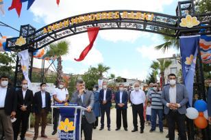 Adnan Menderes Parkı Vatandaşların Hizmetine Sunuldu