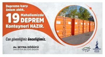 "SANCAKTEPE'DEN ""HER MAHALLEYE AFET İSTASYONU"" PROJESİ"