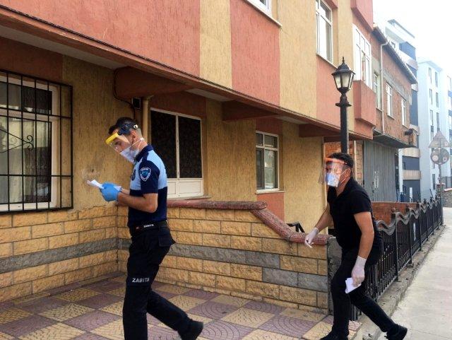 KORONAVİRÜS HASTALARINA KARANTİNA DENETİMİ