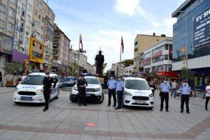 SULTANBEYLİ'DE DRONE'LU DENETİM