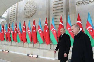 CUMHURBAŞKANI ERDOĞAN AZERBAYCAN'DA