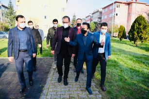 BAKAN KASAPOĞLU, TUZLA'DAKİ SPOR YATIRIMLARINI İNCELEDİ