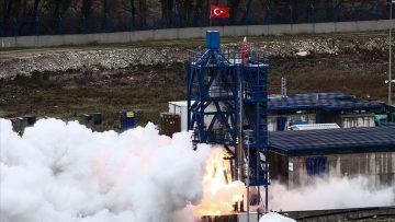 'AY'A SERT İNİŞ' PROJESİ TESTİ BAŞARIYLA SONUÇLANDI