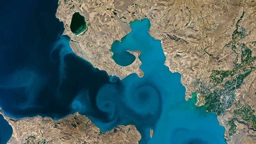 NASA VAN GÖLÜ FOTOĞRAFINI BİRİNCİ SEÇTİ