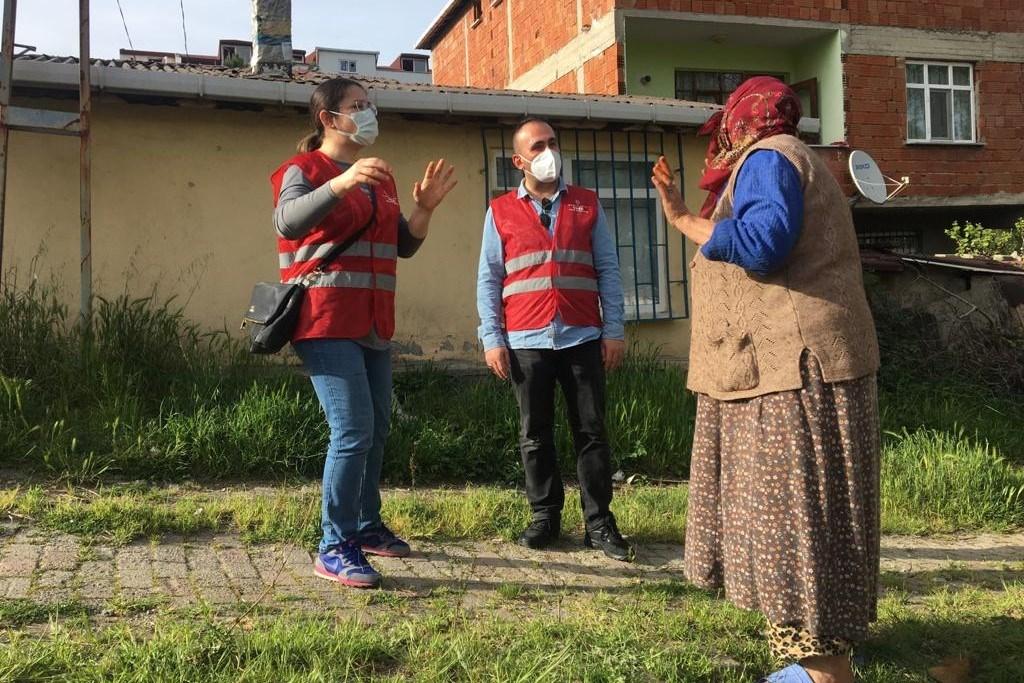 'AŞI BİLGİLENDİRME EKİPLERİ' GÖREV BAŞINDA
